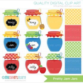 BUNDLE PACK - Pretty Jam Jars