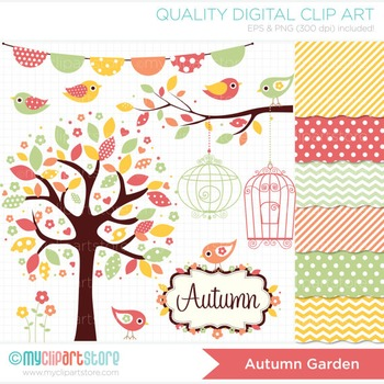 MINI BUNDLE - Seasons / Autumn Garden