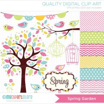CLIPART BUNDLE - Seasons / Sring Garden