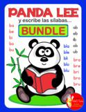 BUNDLE PANDA LEE Y ESCRIBE LAS SILABAS ..... con la letra Bb