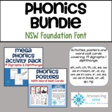 BUNDLE PHONICS ACTIVITY PACK PLUS POSTERS/WORD WALL CARDS