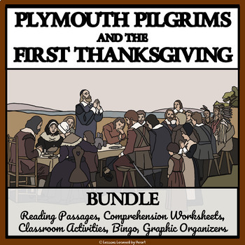 BUNDLE: PLYMOUTH PILGRIMS and the FIRST THANKSGIVING