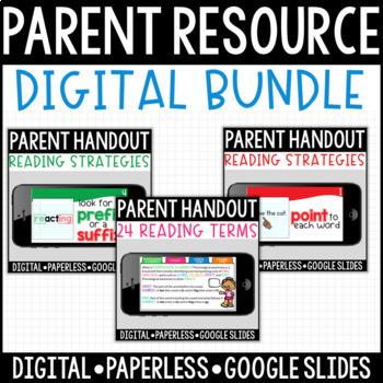 BUNDLE: Paperless Digital Resources for Parents