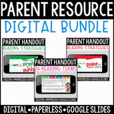 BUNDLE: Paperless Digital Resources for Parents