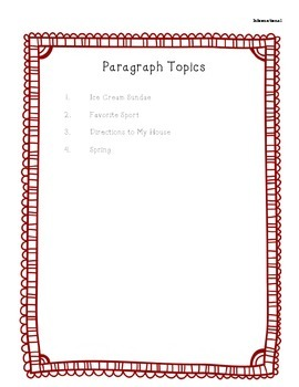 BUNDLE:  Paragraph of the Week