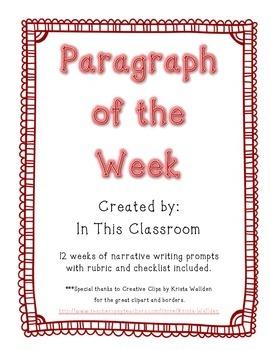 BUNDLE:  Paragraph of the Week