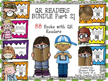 BUNDLE Part 2 QR Readers for Listen to Reading
