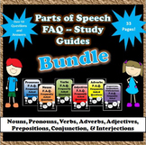 Grammar Worksheets- Parts of Speech F.A.Q.s