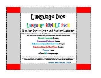 BUNDLE: Past Tense.Pronoun.Plural.Synonym.Antonym.Figurative Lang
