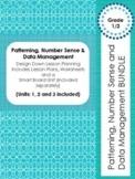 BUNDLE Patterning, Number Sense & Numeration & Data Management