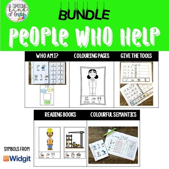 BUNDLE: People Who Help