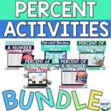 Percent of a Number and Percent Application Activities Bundle