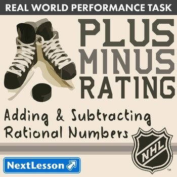 BUNDLE - Performance Task – Add & Subtract Rational Numbers – Plus-Minus Rating