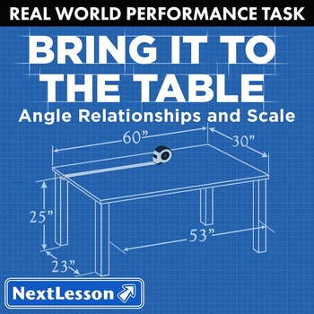BUNDLE - Performance Task – Angles & Scales – Bring it to the Table