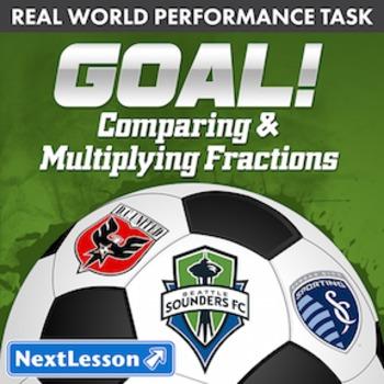 BUNDLE - Performance Task - Comparing & Multiplying Fractions - GOAL!