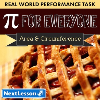 BUNDLE - Performance Task – Area & Circumference – Pi for