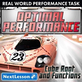BUNDLE - Performance Task – Cube Roots & Functions – Optim