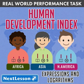 BUNDLE - Performance Task – Expressions and Logarithms – Human Development Index