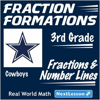 BUNDLE – Performance Task – Fractions & Number Lines – Fraction Formations