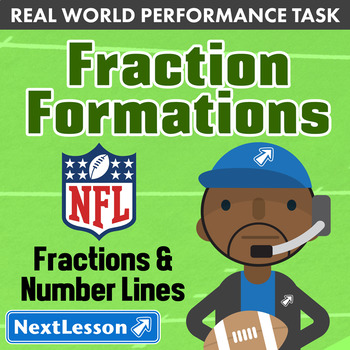 BUNDLE – Performance Task – Fractions & Number Lines – Fra