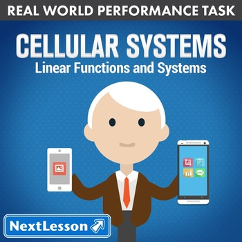 BUNDLE - Performance Task – Linear Functions and Systems – Cellular Systems