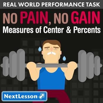 BUNDLE - Performance Task – Measures of Center & Percents
