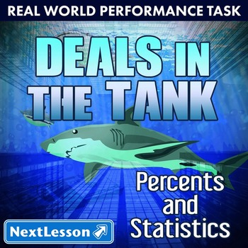 BUNDLE - Performance Task – Percents & Statistics – Deals