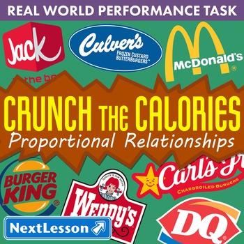 BUNDLE - Performance Task – Proportional Relationships – C