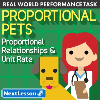 BUNDLE - Performance Task – Proportional Relationships – Proportional Pets