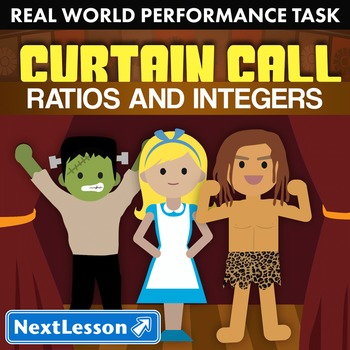 BUNDLE - Performance Task – Ratios and Integers – Curtain Call