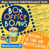 BUNDLE - Performance Task – Time & Multiplication – Box Office Bonus