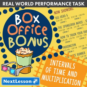 BUNDLE - Performance Task – Time & Multiplication – Box Of
