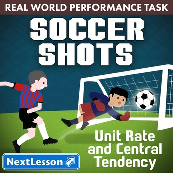 BUNDLE - Performance Task – Unit Rate & Central Tendency –