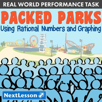 BUNDLE - Performance Task – Using Rational Numbers & Graphing – Packed Parks
