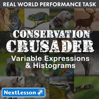 BUNDLE - Performance Task – Variable Expressions  – Conservation Crusader