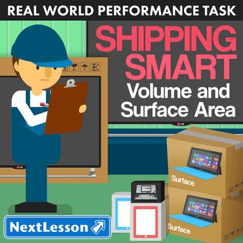 BUNDLE - Performance Task – Volume and Surface Area – Ship