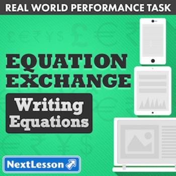 BUNDLE – Performance Task – Writing Equations - Equation Exchange