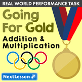 G4 Addition & Multiplication - Going for Gold Performance Task