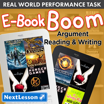 Bundle G7 Argument Reading & Writing - 'E-Book Boom' Performance Task