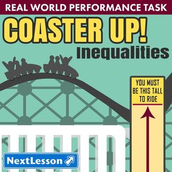 BUNDLE - Performance Tasks - Coaster Up! - Inequalities
