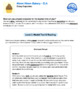 Bundle G3 Explanatory Reading & Writing - 'Mmm Mmm Bakery' Performance Task