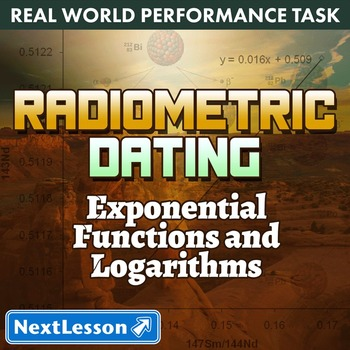 BUNDLE - Performance Tasks – Exponential Functions – Radiometric Dating