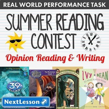 Bundle G3 Opinion Reading & Writing - 'Summer Reading Cont
