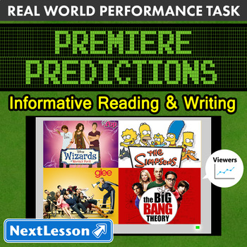 Bundle G8 Informative Reading & Writing-'Premiere Predictions' Performance Task