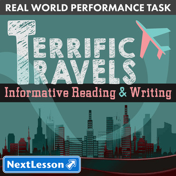 BUNDLE - Performance Tasks – Informative Writing – Terrifi
