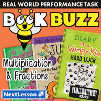 BUNDLE – Performance Tasks – Multiplication & Fractions –