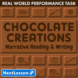 Bundle G5 Narrative Reading & Writing - 'Chocolate Creations' Performance Task