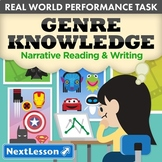 Bundle G8 Narrative Reading & Writing - Genre Knowledge Performance Task