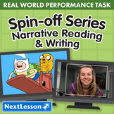 Bundle G3 Narrative Reading & Writing - 'Spin-Off Series' Performance Task