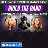 Bundle G3 Opinion Reading & Writing - 'Build the Band' Performance Task